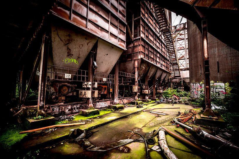 Staalfabriek machines van SchippersFotografie