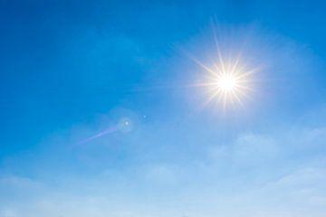 Stralende zon van Günter Albers