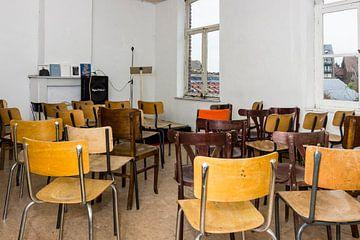 Zaal wacht op publiek van Studio Kunsthart