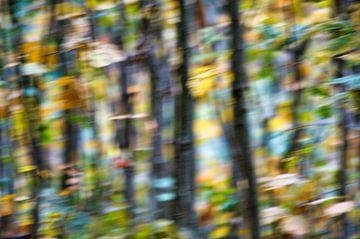 Abstracte kunst Herfst
