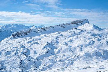 De Hohe Ifen en de Gottesacker hoogvlakte van Leo Schindzielorz