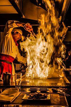 Flamberen van Alvin Aarnoutse