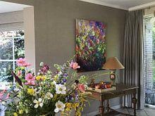 Kundenfoto: Wildblumen von pol ledent, auf leinwand