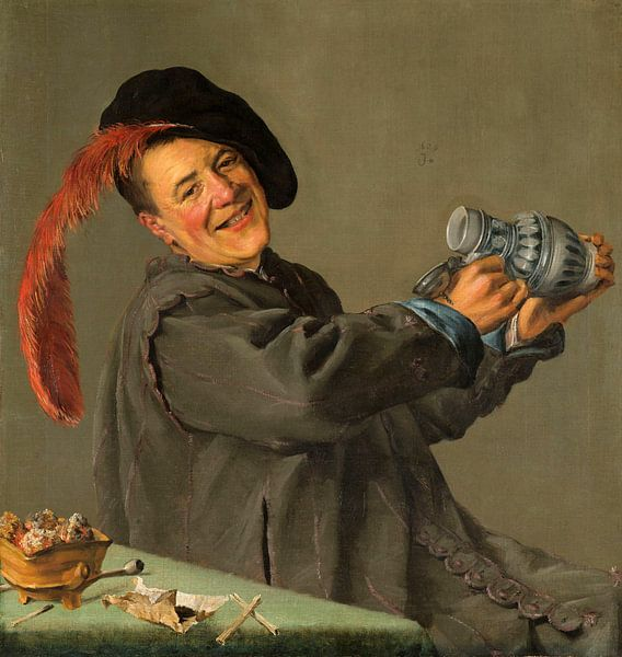 De vrolijke drinker, Judith Leyster, 1629 van Het Archief