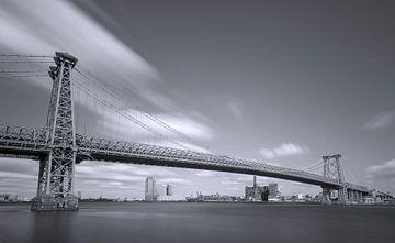 Williamsburg Bridge - New York City van Marcel Kerdijk