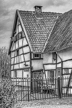 Vakwerkhuisje in Epen, Zuid-Limburg