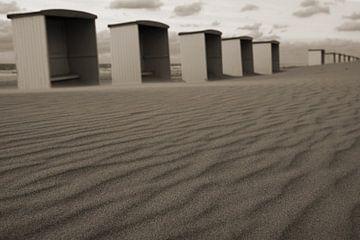 strandhuisjes von Dirk van Egmond