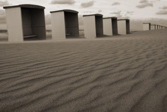 strandhuisjes van Dirk van Egmond