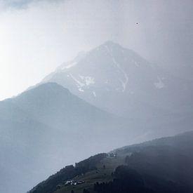Regen in Oostenrijk van Hidde Hageman