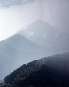 Regen in Oostenrijk van