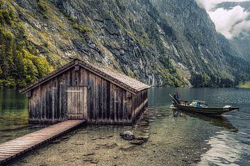 Obersee in Berchtesgadener Land von Maurice Meerten