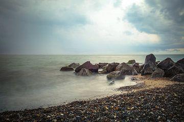 Sur la côte danoise sur Truus Nijland