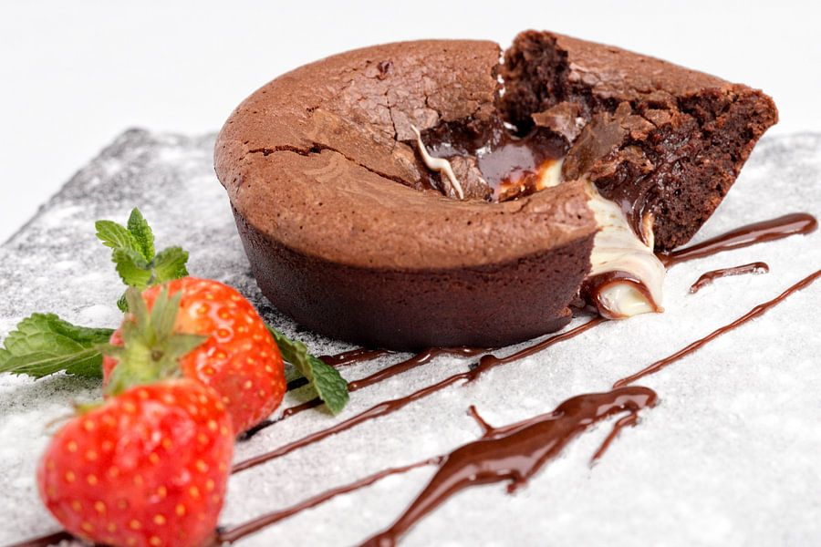 Chocolade soufflé