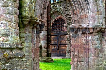 Die Ruinen von Arbroath Abbey von Jürgen Wiesler