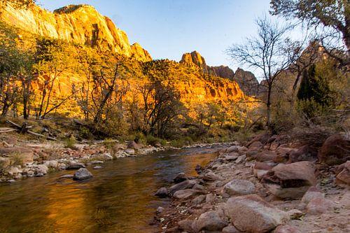 Zion national park river loop