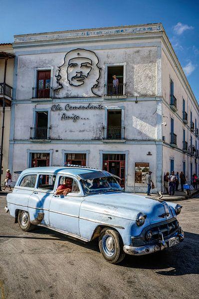 Oldtimer in Camaguey van Joris Pannemans - Loris Photography