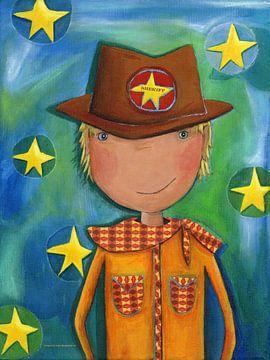 Sheriff Cowboy von Atelier BuntePunkt