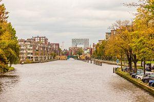 Pontsteiger in Amsterdam van Kevin Nugter