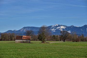 Frühling in Bayern von Peter Bergmann