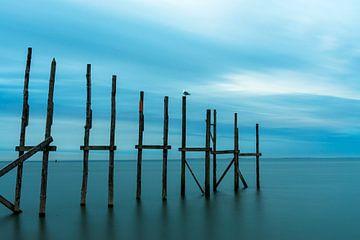 Steiger in zee van Everydayapicture_byGerard  Texel