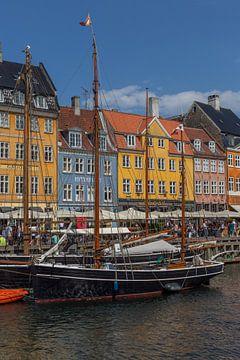 Kopenhagen Nyhav van Hendrik Harm