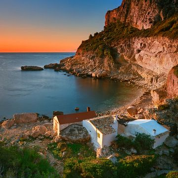 Costa Blanca, Spanje Vierkant Formaat van Peter Bolman