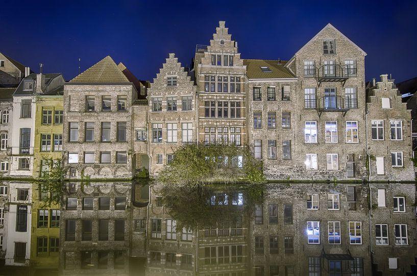 Skyline Gent van Mark Bolijn