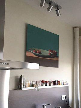 Kundenfoto: Stilleben mit Tomaten von Marijke van Loon