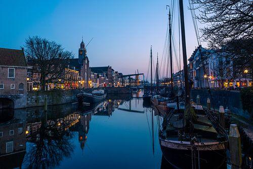 Schiedamseweg in Delfshaven van Chris Snoek