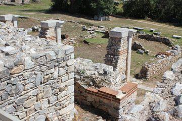Mauerreste mit Restaurationsversuchen Philippi / Φίλιπποι (Daton) von ADLER & Co / Caj Kessler