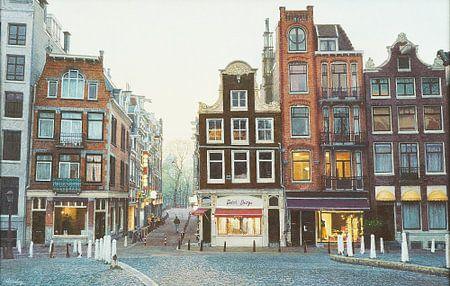 Schilderij: Amsterdam, Oude Leliestraat