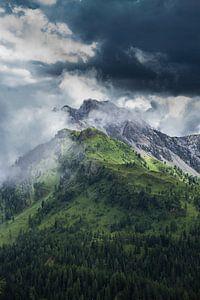 Sturm zieht auf - Dolomiten von