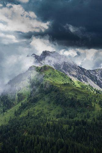 Surrounded by Clouds van Lukas De Groodt