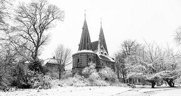 Poort in de sneeuw von Truus Koster