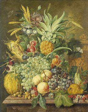 Stillleben mit Früchten, Jacobus Linthorst von Meesterlijcke Meesters