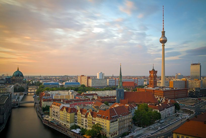 Skyline Berlin von Heiko Lehmann