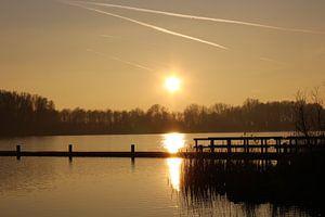 Zonsondergang Noord Holland van