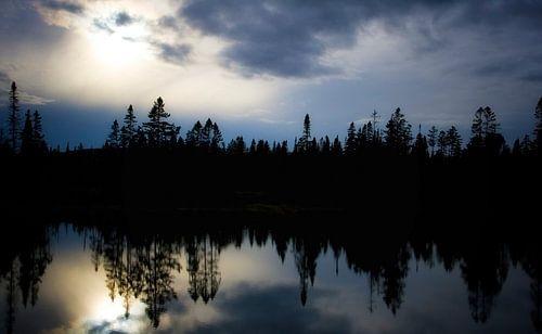 Lac miroir, Canada