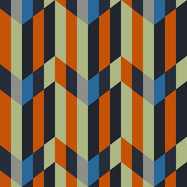 Composition abstraite 711 van Angel Estevez