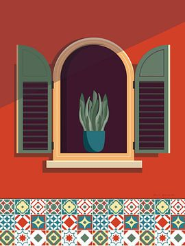 Window Lisboa Sage, Omar Escalante van Wild Apple