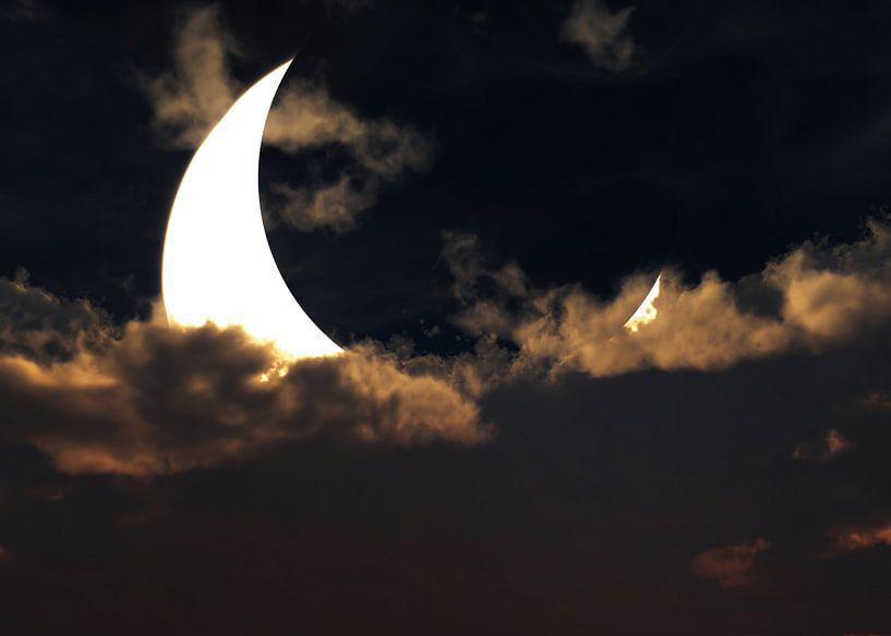 Sonnenfinsternis von Max Steinwald