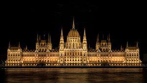 Parlementsgebouw Budapest van