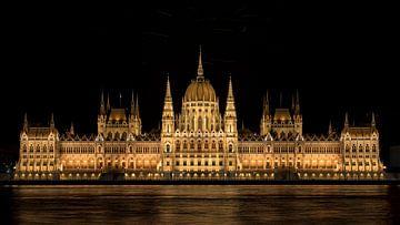 Parlementsgebouw Budapest von Erik de Klerck
