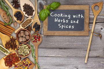 Koken met Kruiden en specerijen van PhotoArt Thomas Klee
