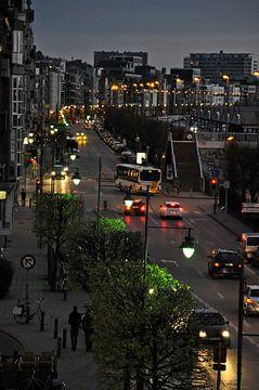 Antwerpen bij nacht von Pyter de Roos