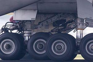 A set of Boeing wheels