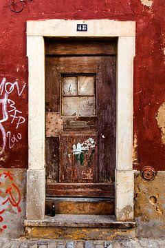 abandoned door 3 van
