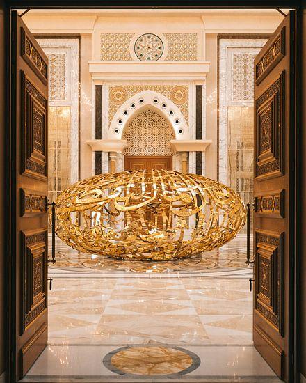 Qasr al Watan, der goldene Palast des Scheichs in Abu Dhabi.