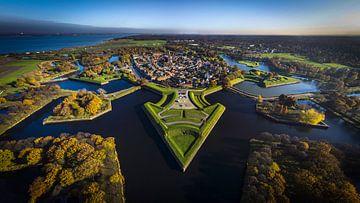 Naarden Luftaufnahme von Maarten Drupsteen
