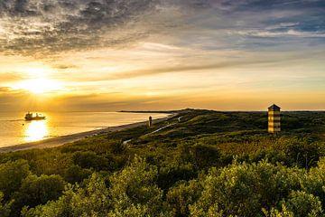 Dishoek Sunset van Thom Brouwer